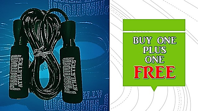 SKIPPING ROPE PROMO - BUY 1 AND GET 1 FREE