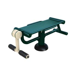 Outdoor Gym Equipment Wab Board & Leg Trainer