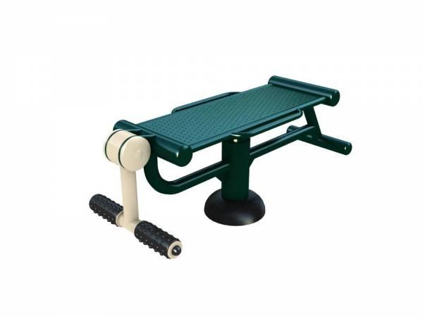 Outdoor Gym Equipment Wab Board & Leg Trainer