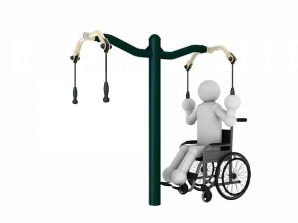 Arm Extension Apparatus1 Disabled Gym Equipment | Green Air