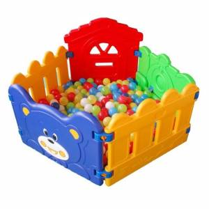 Plastic Jungle Gyms Ball Pit Playfence