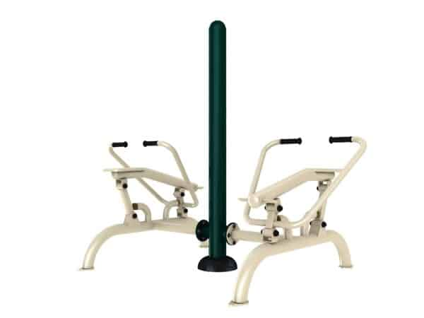 Double Rowing Machine - Green Air