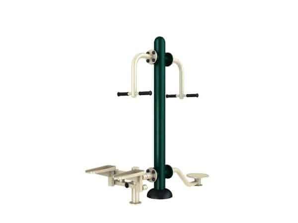 Waist Movement Stepper - Green Air
