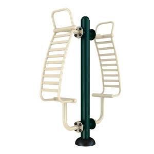 Outdoor Gym Equipment Double Back Stretcher