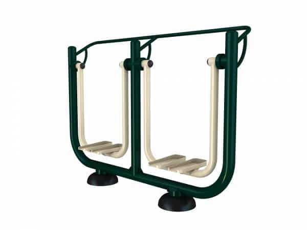 Double Space Walker Fitness Equipment - Green Air