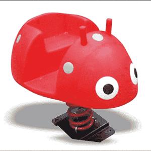 Toddler Play Equipment FMS027 Ladybug Spring Rider