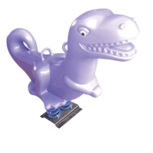 Toddler Play Equipment FMS077 Dinosaur Spring Rider