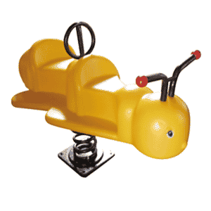 Double Ant Spring Rider For Kids   Green Air