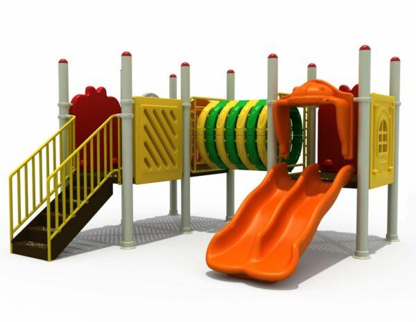 Kids Giant Jungle Gym Qai   Green Air