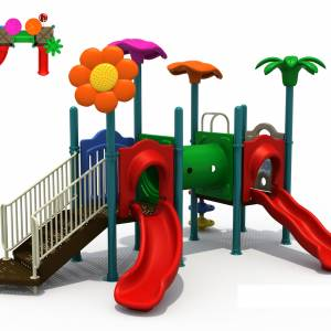 Outdoor Playground Equipment For Kids Giant Jungle Gym 006