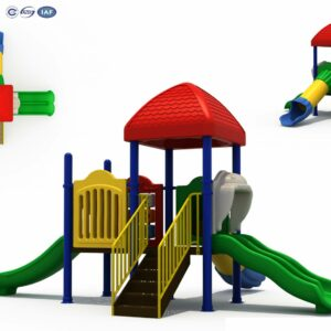 Giant Jungle Gym Gai Playground Outdoor | Green Air