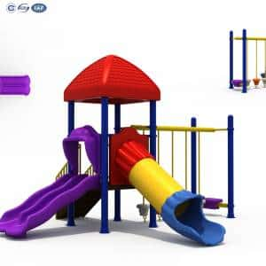 Outdoor Playground Equipment For Kids Giant Jungle Gym 012