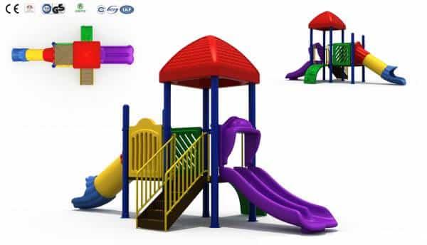 Kids Outdoor Giant Jungle Gym Gai-013 | Green Air