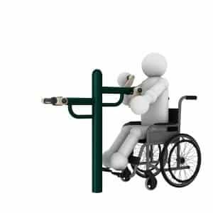 Hand Wheel1 Disabled Gym Equipment | Green Air