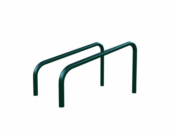 Outdoor gym equipment push up bars
