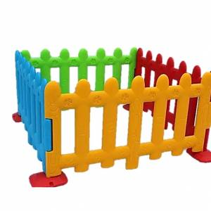 PLASTIC JUNGLE GYMS FMJ036 Rainbow Fence