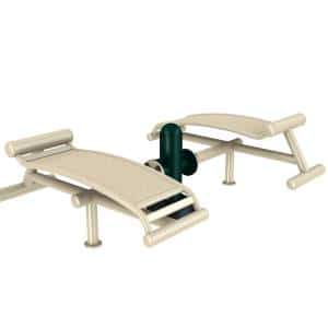Outdoor Gym Web Board | Green Air