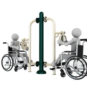 Outdoor Gym Equipment WHC 002 - Green Air