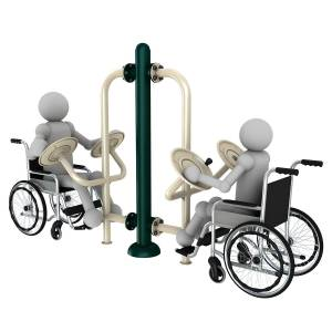 WHC Outdoor Gym Equipment For The Disabled | Green Air