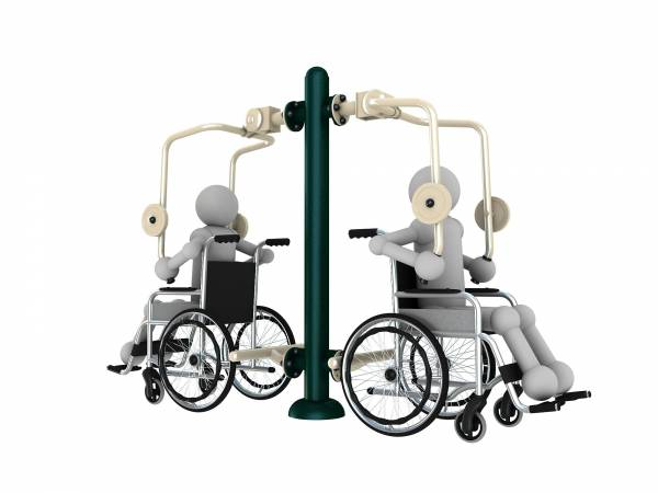 Outdoor gym equipment WHC 006 - Green Air