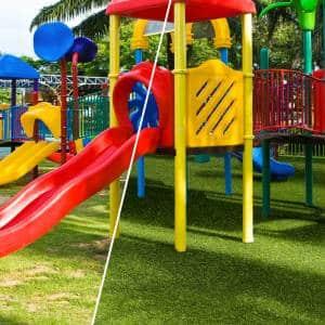 Playground artificial grass - Green Air