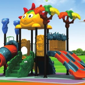 Giant Kids Playground in Park